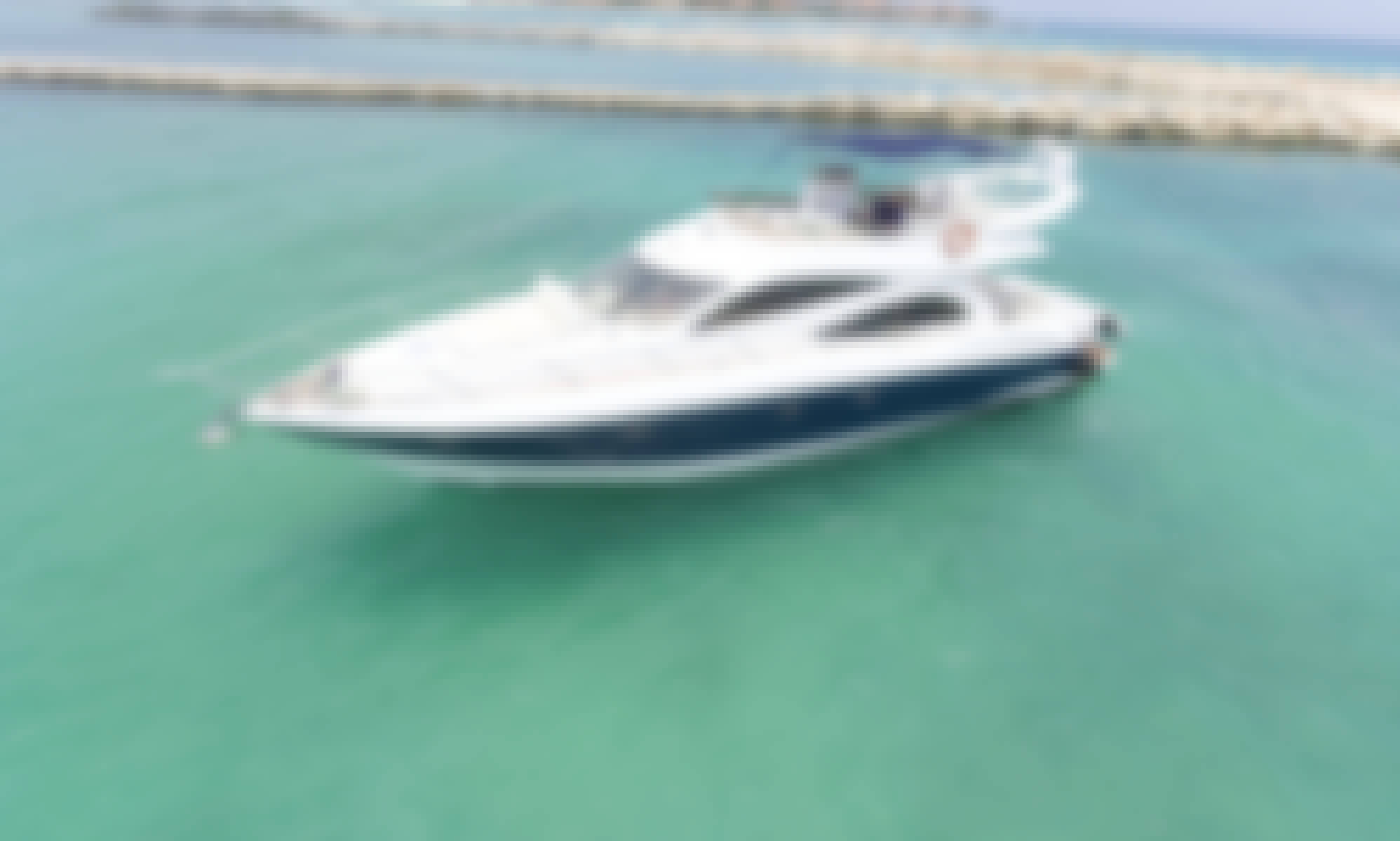 Sunseeker Manhattan 59 Luxury Yacht In Tulum and Playa Del Carmen!