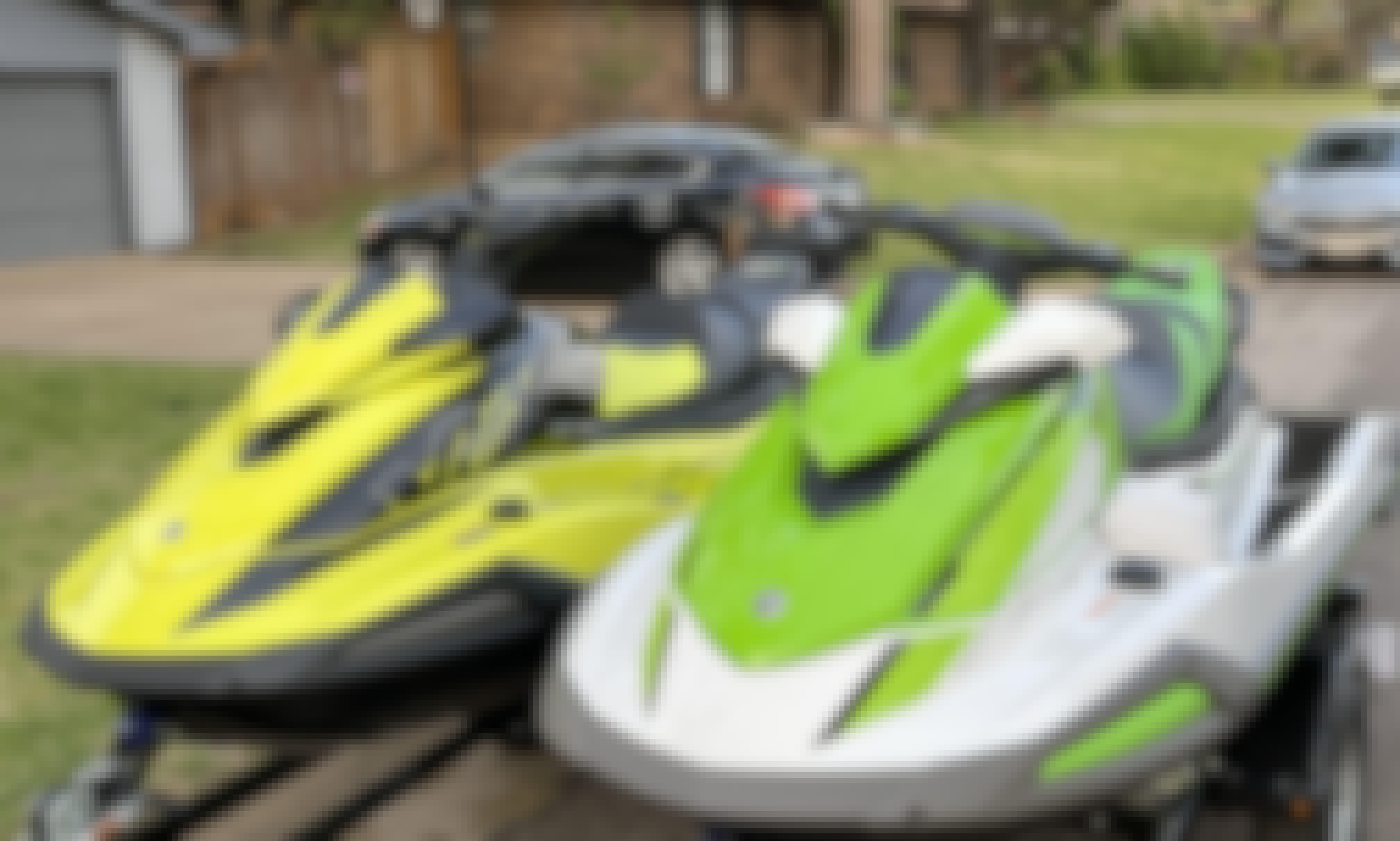 2021 Yamaha Waverunner Jet Skis For Rent x 2 | Cedar Creek Lake
