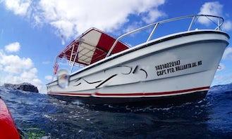 26' Boat Charter in Puerto Vallarta