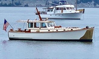 Luxury 40' Restored Charter Yacht - Orcas Island, WA - Daily Cruises & Overnights