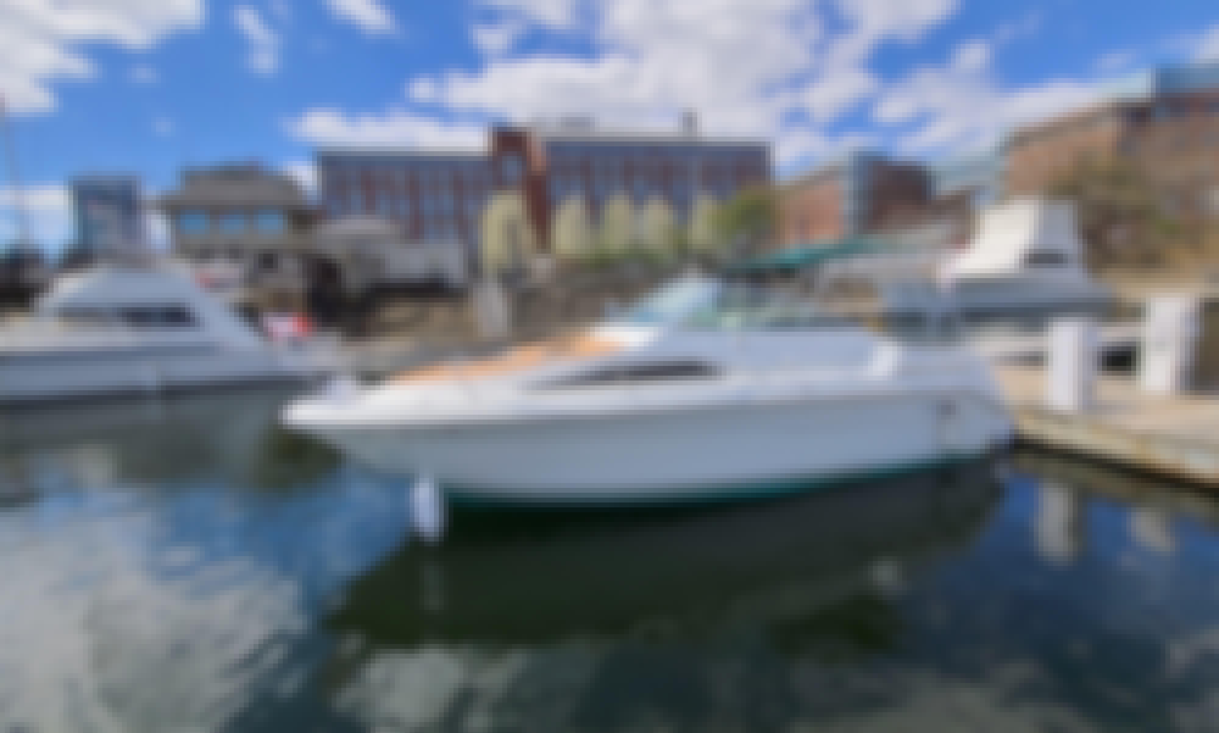 Beautiful Sea Ray Cuddy Cabin Cruiser for rent in Boston