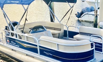Cruise in Style on Our New 20' 2021 SunTracker Pontoon!