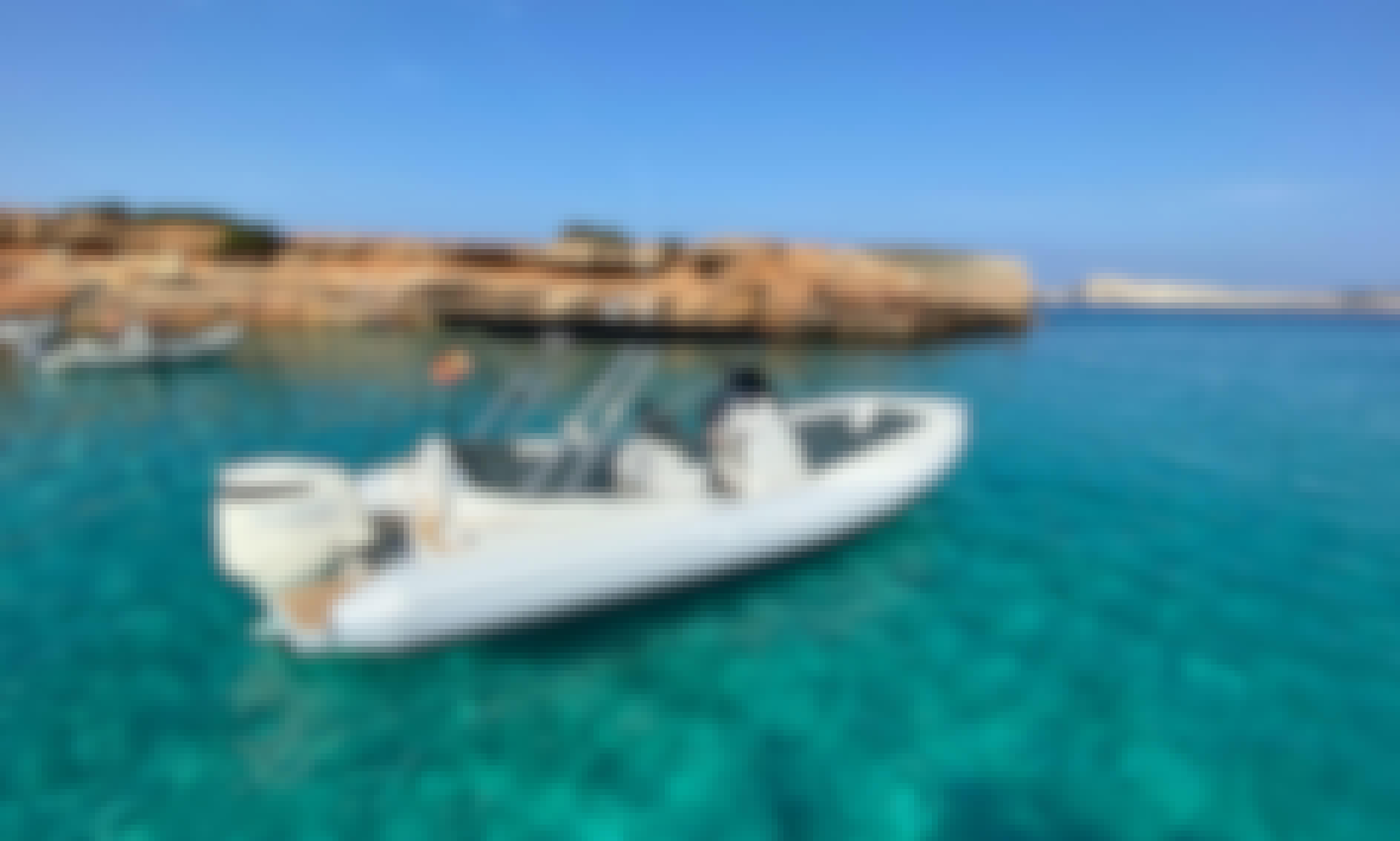 Rent Zar 79 Sport Luxury RIB In Sant Antoni de Portmany, Illes Balears