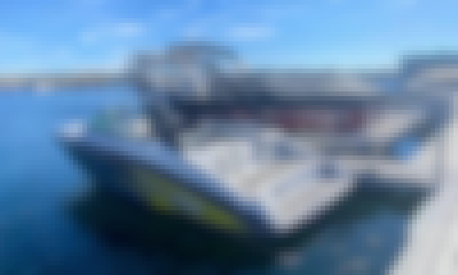 19' Yamaha AR192 Jet boat for rent at Pueblo Reservoir