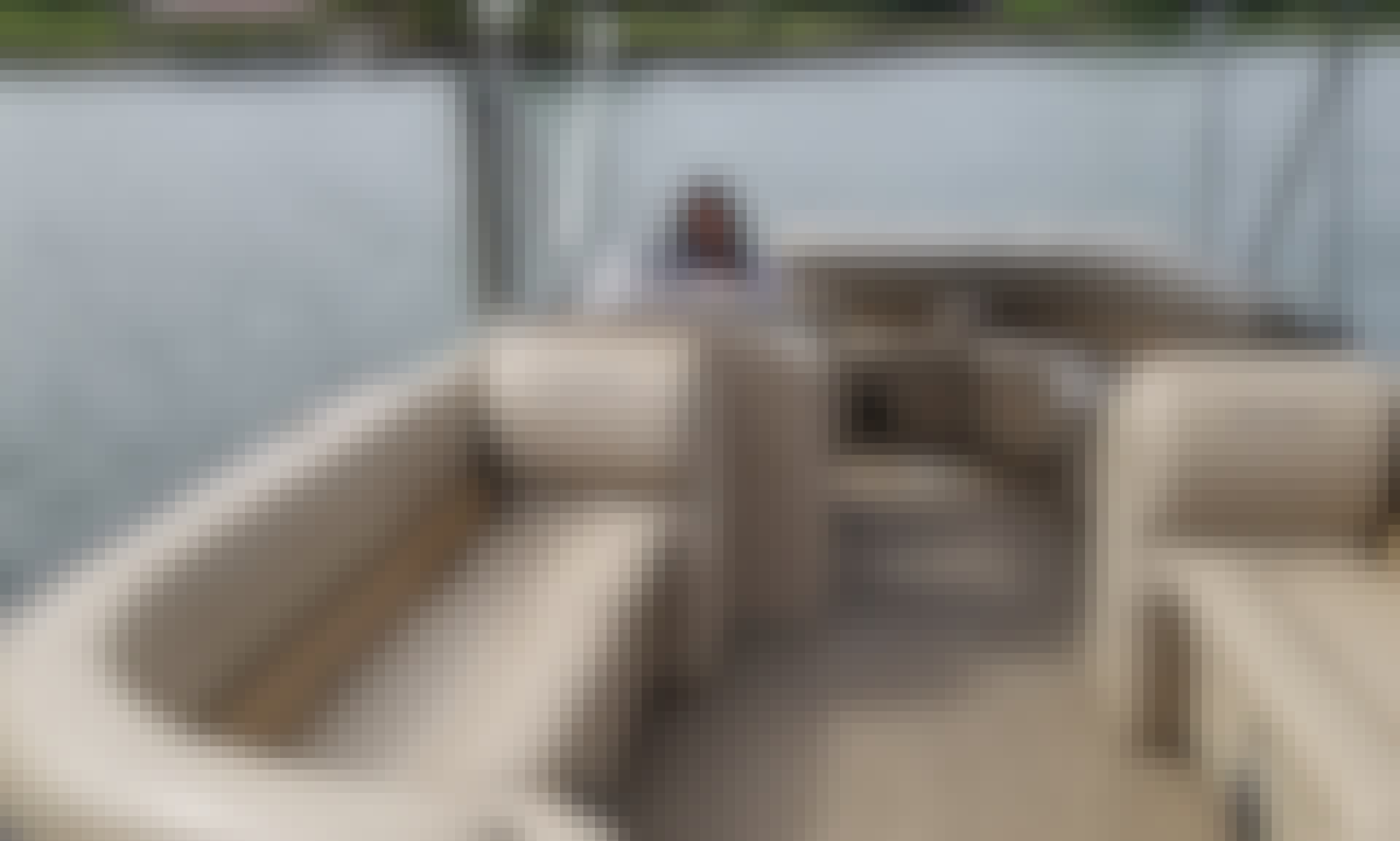 2019 Bentley 24' Pontoon boats on Lake Norman North Carolina