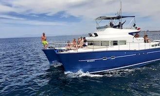 Enjoy 43' Catamaran Yacht Power Charter in Puerto Vallarta, Jalisco