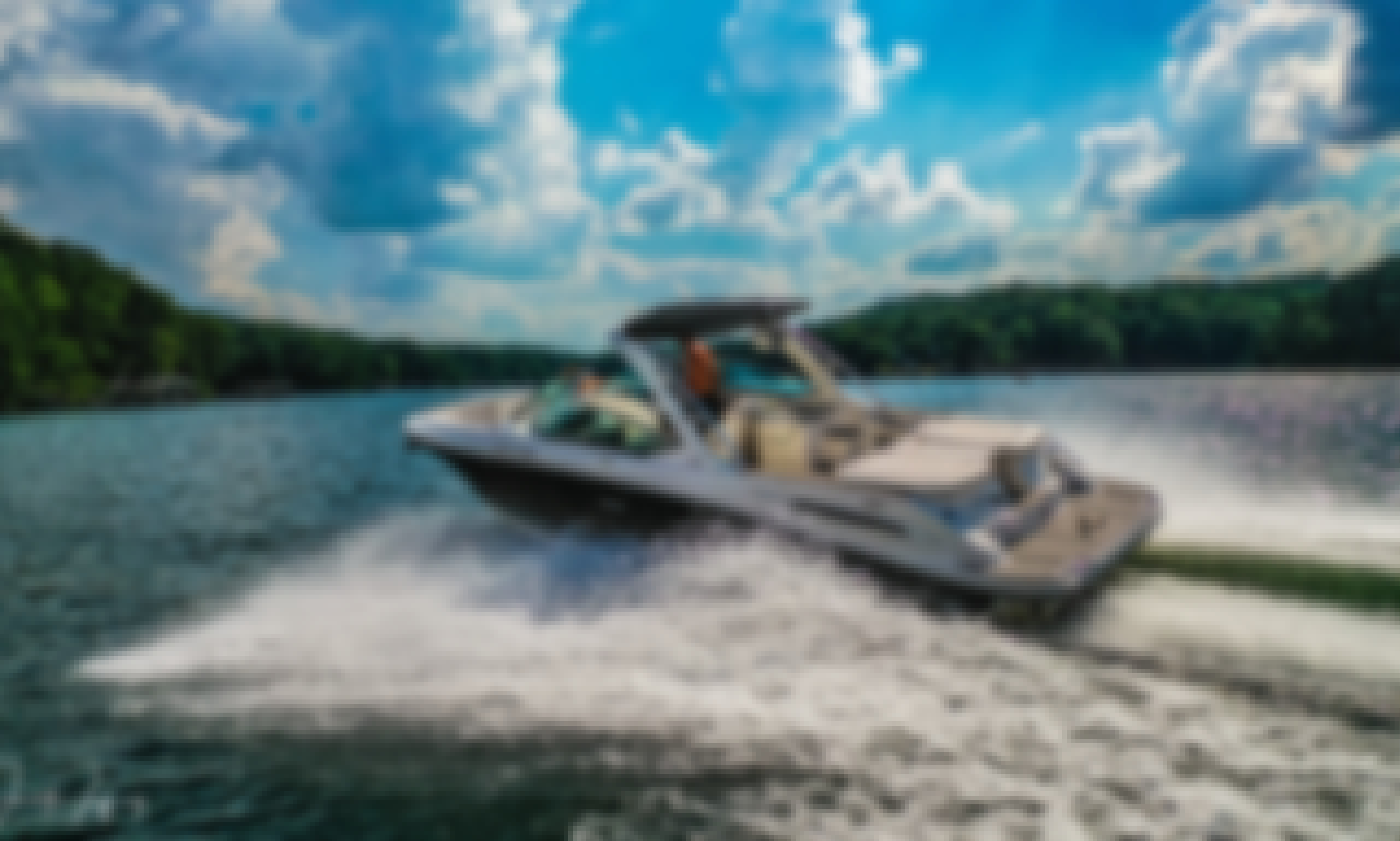 29' Searay 270 SLX Powerboat For Charter on Lake Lanier