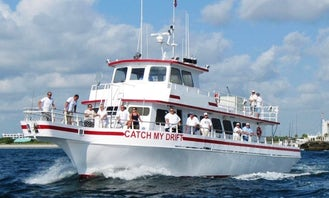 Private Yacht Charter on 85' Gulfcraft Party Boat in Fort Lauderdale, Florida