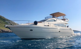 Aicon 52 Fly Motor Yacht Charter in Vlorë County