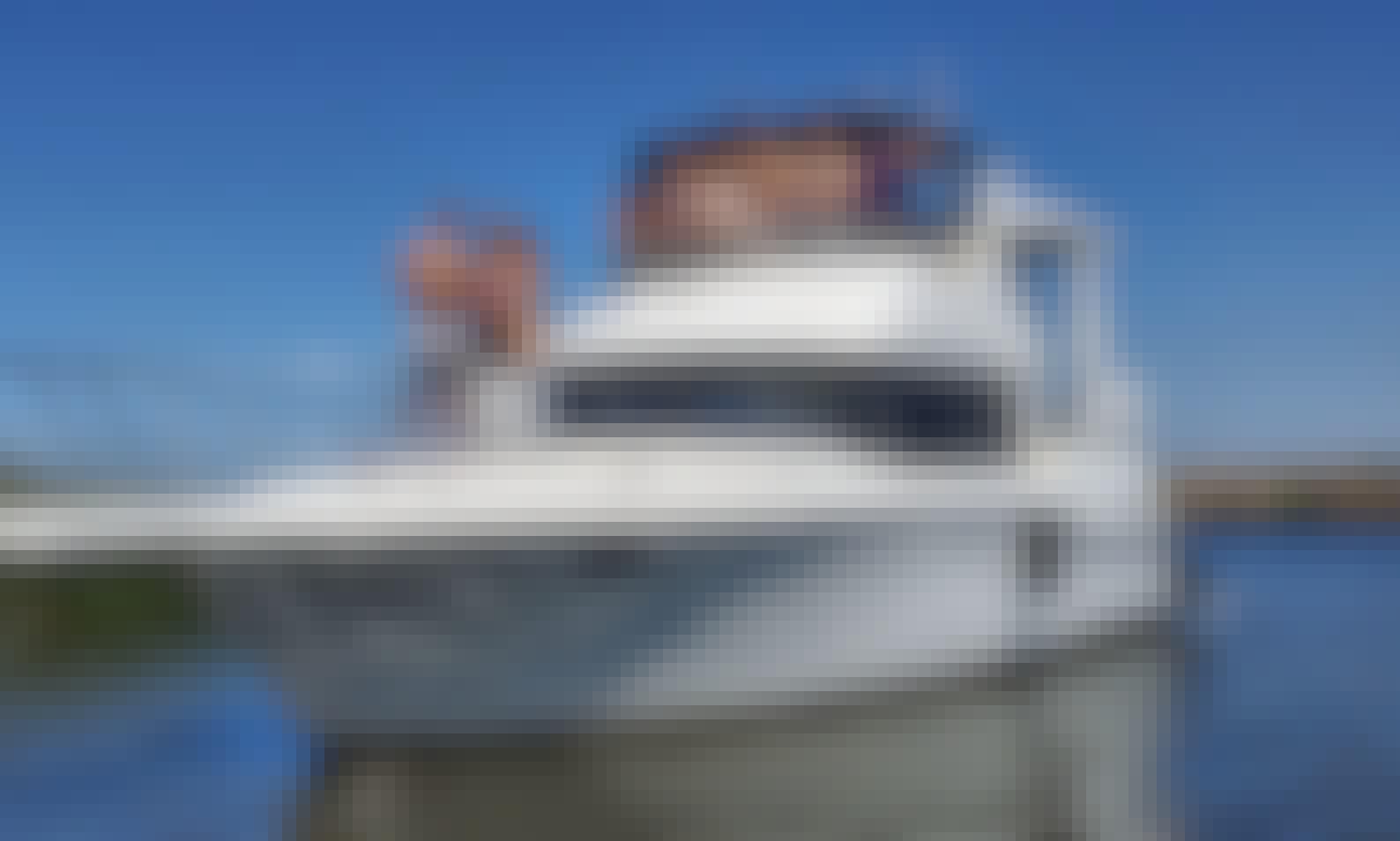 41' Luxury Yacht Experience Delta !!!