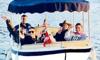 Duffy Electric Boat Rental in Marina Del Rey!