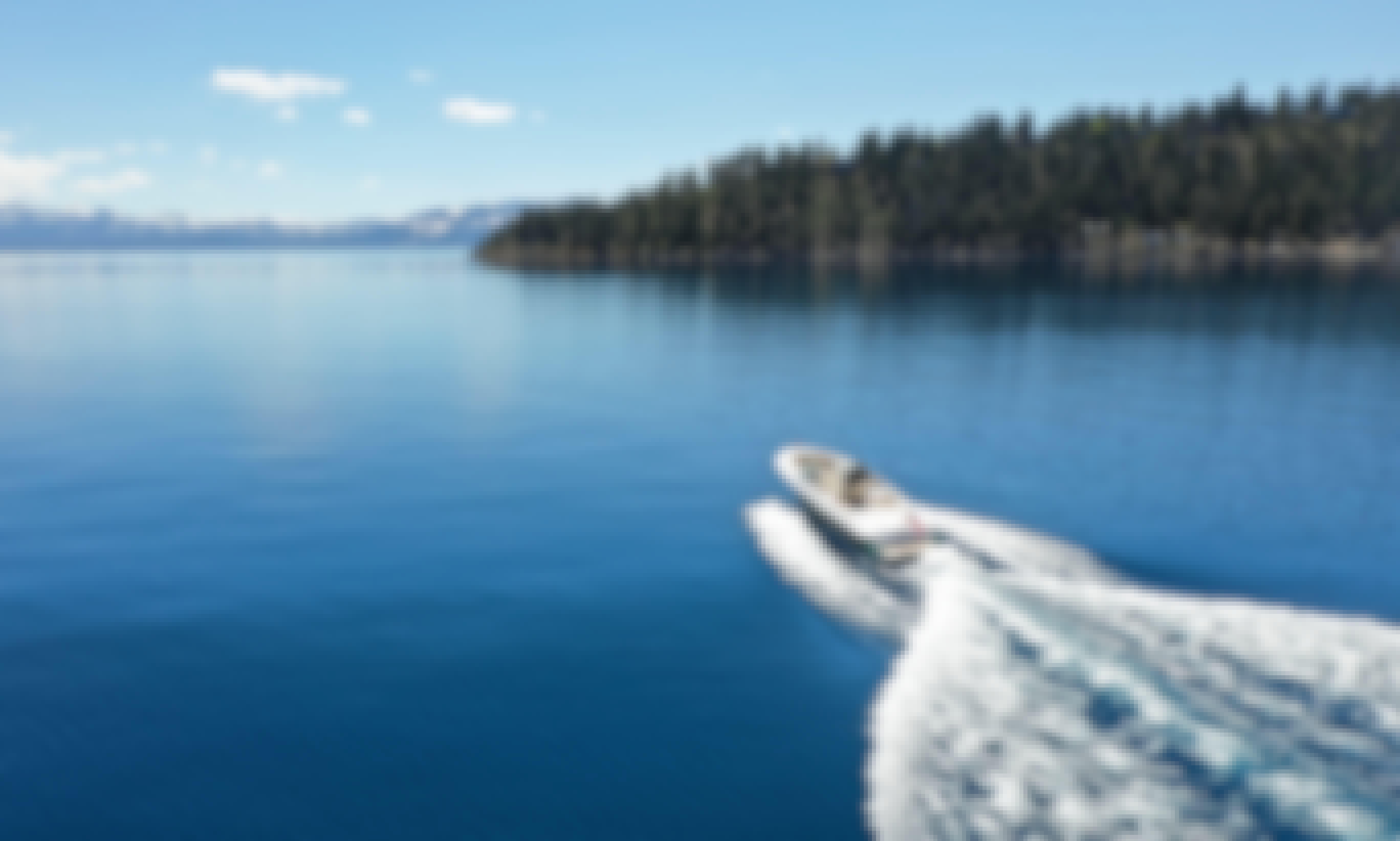 Tahoe Sunset Cruise on Chris-Craft Launch 25