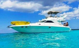 40' Sea Ray Flybridge in Tulum and Playa del Carmen