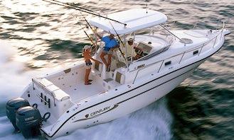 Offshore Fishing Yacht Or Cruiser Yacht Charters - 33' Century Power Yacht