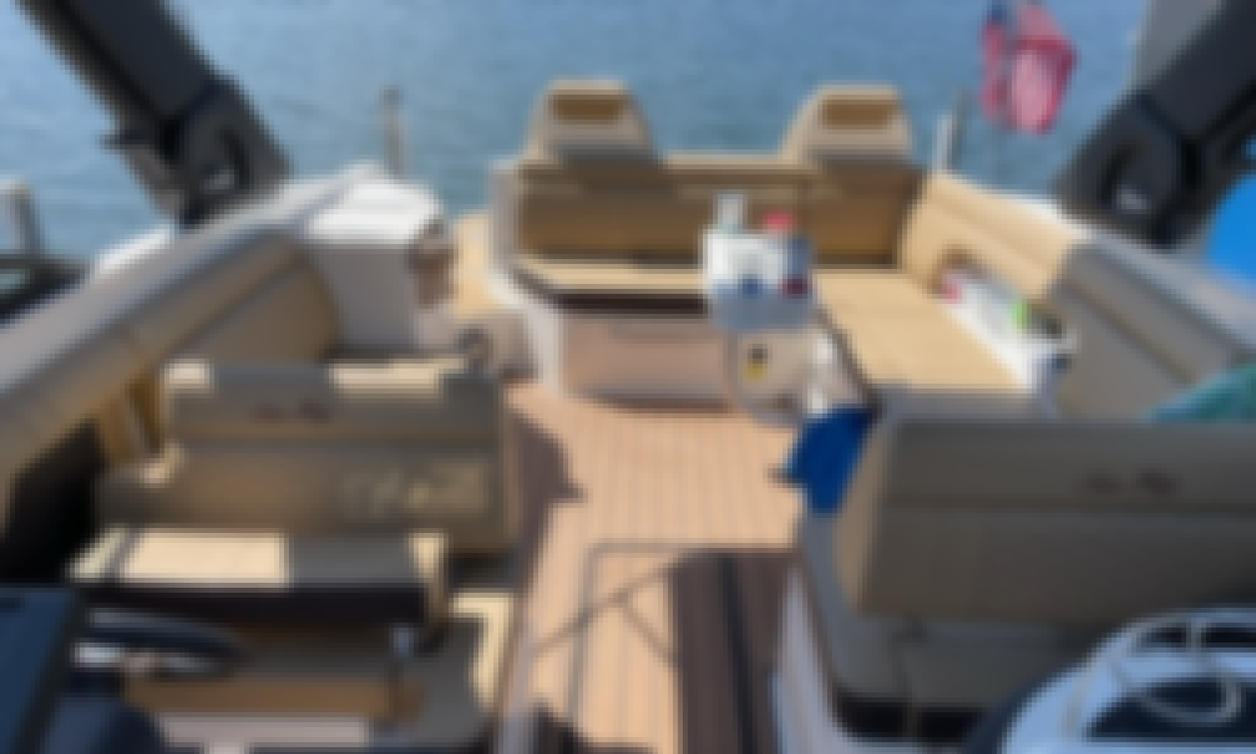 Andiamo!  NEW 29' Luxury Bowrider on Lake Minnetonka - Cruising, Swimming, Bachelor/Bachelorette Parties, and more!