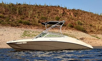 Rent 21' 2015 Yamaha AR210 Jet Boat at Lake Pleasant - Seats 9