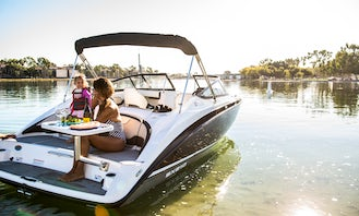 Safe, Reliable, Outdoor, Boating Fun in Long Beach on a 2019 21ft Yamaha