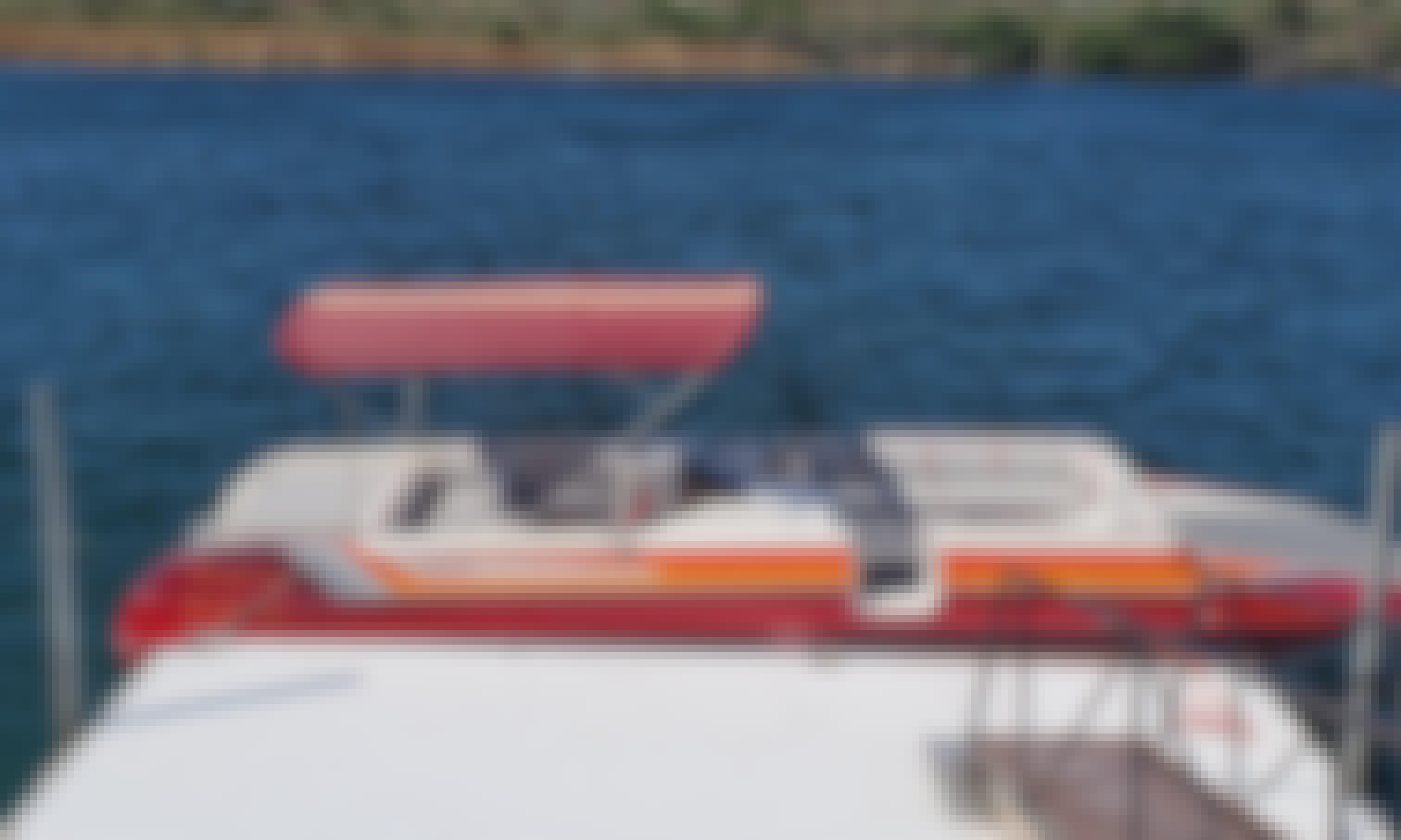 26' Hallett Deck Boat
