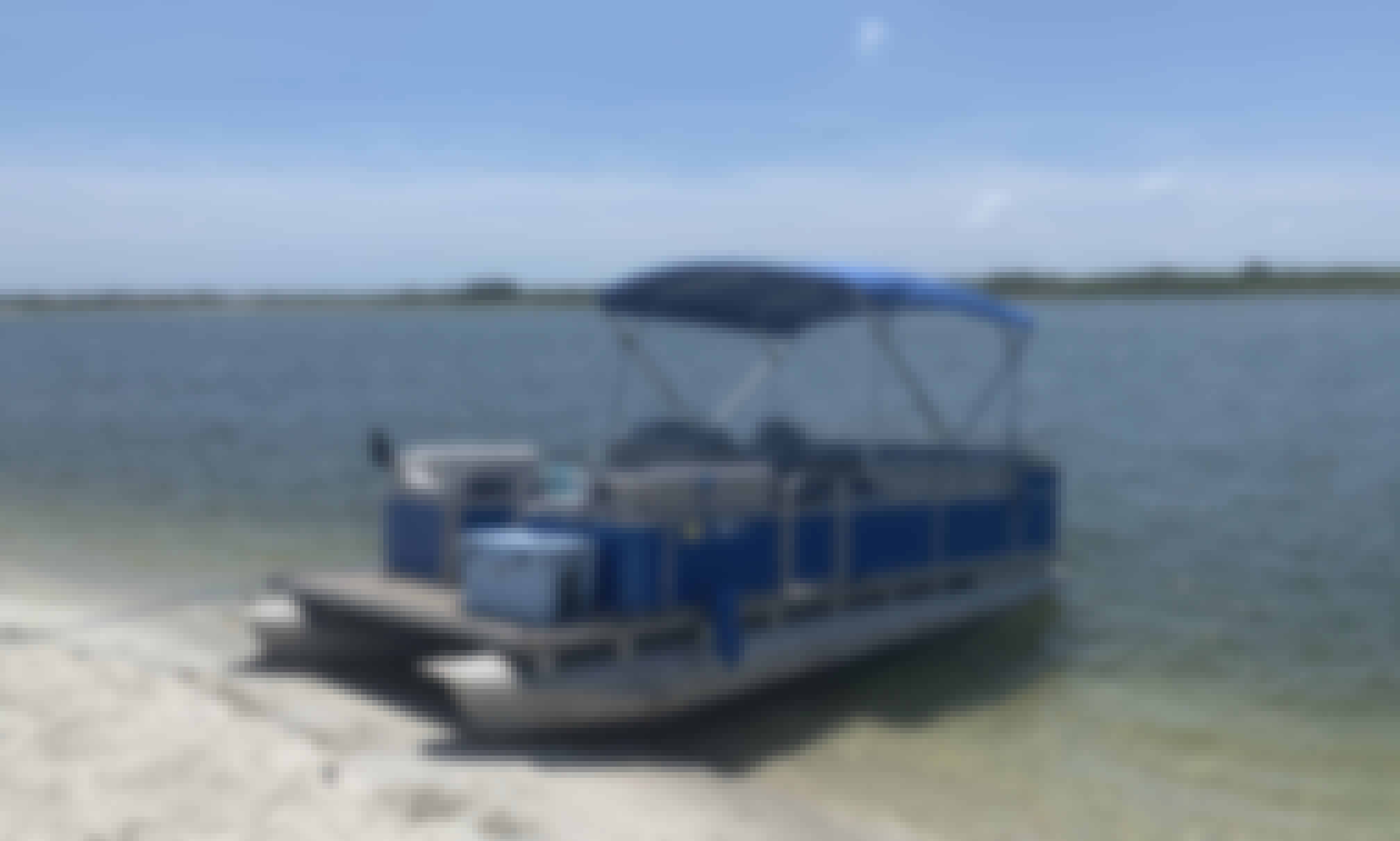 20' Manitou Pontoon for 8 People in Daytona Beach