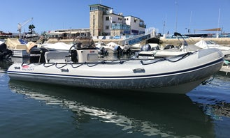 RIB rental in Faro for up to 6 guests