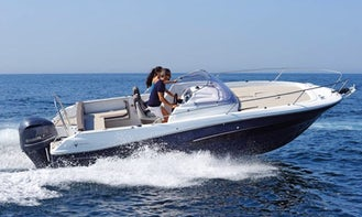 Spectacular sports boat in Formentera