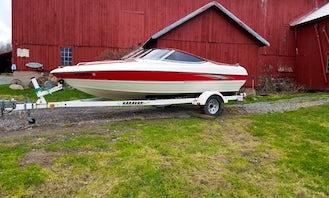 19' StingRay Bowrider for rent on Cazenovia Lake
