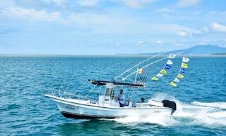 Center Console Fishing Boat in Puerto Vallarta