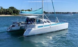 Charter 40ft Norseman Catamaran in Kemah, Texas!