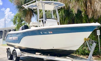 Life is better on the water! Rent 24' Sea Fox Center Console in Hilton Head Island South Carolina