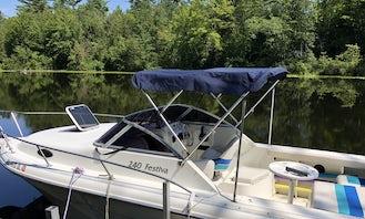 Rinker 240 Festiva on Schroon Lake