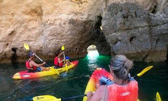 Kayaking Tours in Benagil Caves