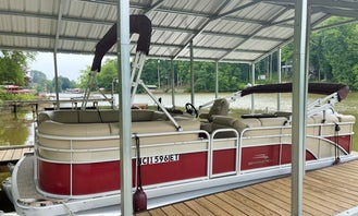 22' Bennington Tritoon for Rent with Captain on Lake Norman!