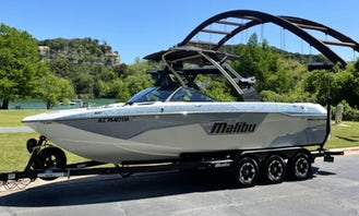 Lake Austin  -  Watersports Experience with 2019 Malibu Wakesetter 25' LSV