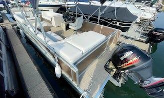 Weeres 240 Cadet Pontoon Boat for Rent in North Carolina