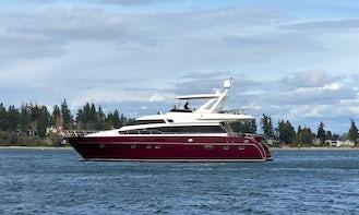 67' Monte Fino Luxurious Yacht in Seattle / Puget Sound / San Juan Islands