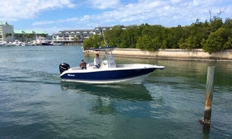 Charter this Amazing 26' Tritan Center Console for 6 People in Clearwater/Largo, FL