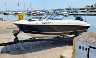 New Bayliner Bow-Rider for rent in Lake Ontario (MON -THURS ONLY)