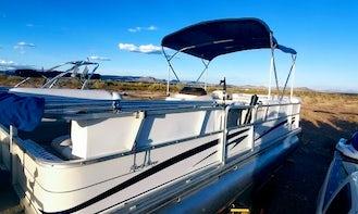 Chill Party Barge - 24' Sun Tracker Pontoon Rental in Peoria, Arizona