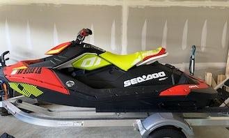 Seadoo Spark JetSki for rent at Lake Anna