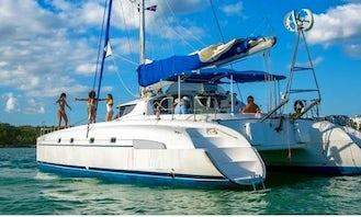 Sailing Catamaran for 22 People in Boca Chica, Santo Domingo