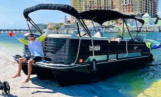 Suncatcher G3 Elite!! Most Badass Party Pontoon in Miami!