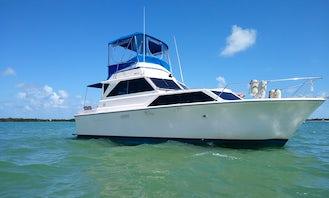 32' Sedan Cruiser in Sebastian, Florida!
