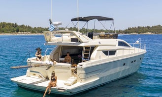 Ferretti 165 Fly Luxury Yacht Charter in Chalkidiki