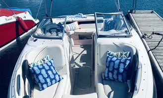 25ft Rinker Captiva Boat Ready For Your Playpen Party in Chicago, Illinois