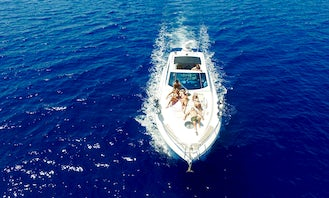 Luxury Cranchi 43' Yacht for Charter in Greece