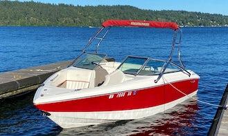 Get out on Lake Washington in a Cobalt 200