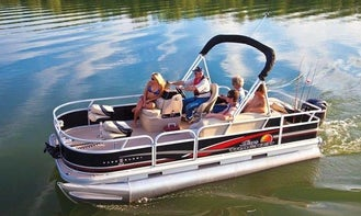 **2020 Top Award Best of Get My Boat** also awarded **2021 Super Owner** - 2020 Pontoon 20' Foot Party Barge - Great for Parties or Family Days on Canyon Lake (FUEL INCLUDED)