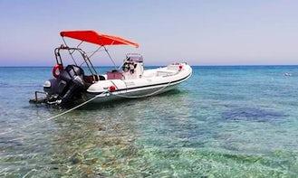 Rent a Comfortable RIB in Ierapetra