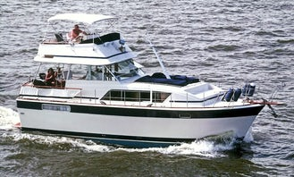 41' Classy Motor Yacht Cruise with Martinis and Sunsets from Vero Beach and Ft Pierce FL