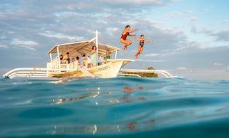 'Galatea' Outrigger Boat Cruise In Siargao Island